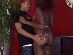 Tall ebony fucks in her awesome juicy ass