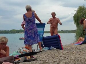 Nudist grandpa at the beach - 3, Another sexy