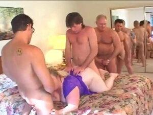 Patty Parker SSBBW VS 5 Man Anal Gangbang