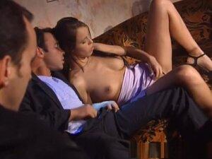 Horny pornstar Sarah O'Neal in hottest threesomes,