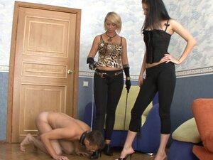 Russian-Mistress Video: Amanda & Karen, Domination