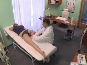 filthy doctor enjoys the arousing therapy with her