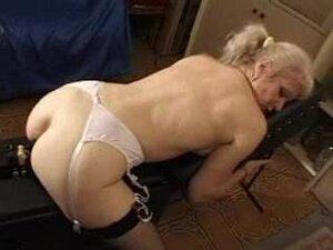 french shaved blonde granny pt12