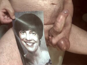 Tribute for pchad - facial cumshot in open mouth,