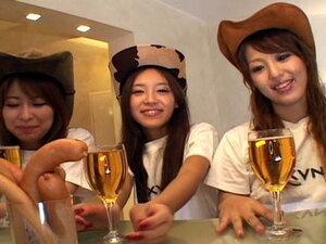 Group sex with Miyu Sugiura, Nagisa, Nami, Men are