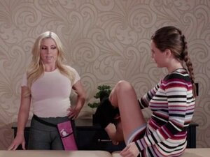 Masseuse Christie Stevens loves to eat Lana