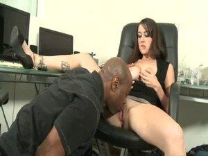 Secretary Nominee Licked by Black Dick