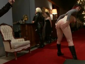 Anal Game Night, When slave handler Maestro comes