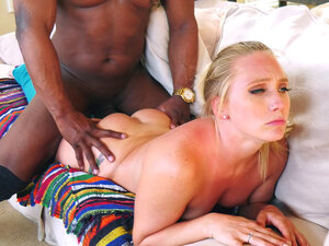 AJ Applegate gets fucked lying on her stomach by