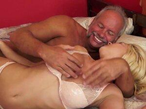 Dirty grandad loves it when Sienna Day wanks his