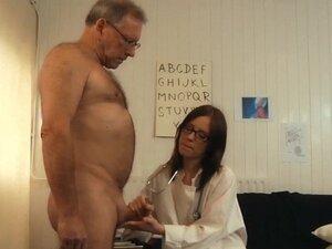 Old man rejuvanates after fucking young brunette