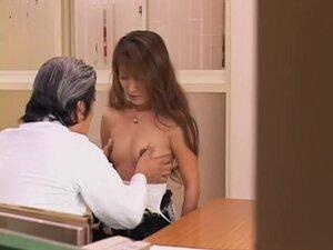 Incredible Jap whore banged during a medical