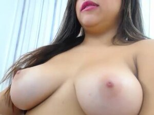 Dirty Curvy Brunette With A Great Body Teasing