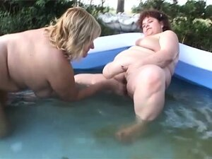 Chunky mature ladies enjoying the pleasures of