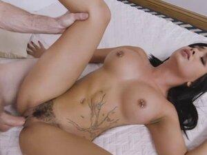 Sweet horny babe Aaliyah Hadid craving for hard