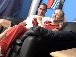 Hot Blond Chick Blows In College