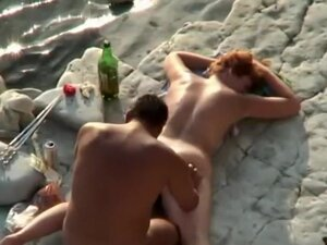 Plump redhead woman gets fucked,