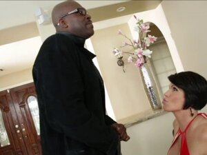 Shay Fox gets fucked by a big black cock and gets