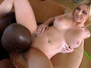 Petite blonde Christie Stevens is very amazed by