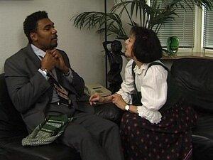 Interracial mature sex