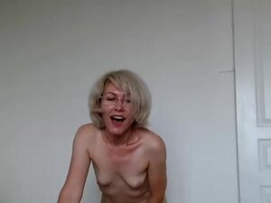 Grandma Playing With Herself For You To Watch