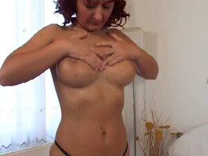 Hot Busty Mature Redhead Cougar Banging Young