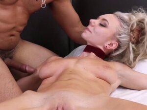 Precious blonde Molly Mae make hard penis for her