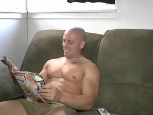 Straight Marine Buddies Brennan and Nick Jerking