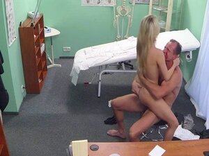Costumed doctor made his patient horny