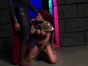 Britney Amber in Batman V Superman XXX: An Axel