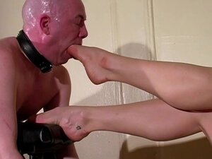 A Foot Cunt Mercilessly Foot Gagged by his