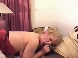 horny milf takes on lucky stranger's huge BBC on