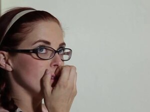 Bigtitted redhead Penny Pax gets ass to mouth,