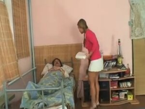 Ugly old man fuck sexy blonde teen