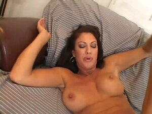 Latina Milf Banged By A Young Dick, Sexy brunette