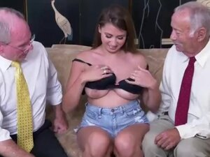 Horny slut daddy first time Ivy impresses with her