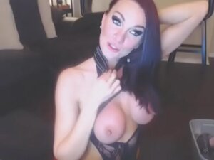 /tube - Kia Rose toying on cam in black sexy