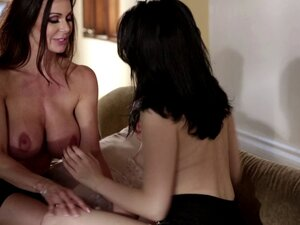 MILFs hanging out end up getting naked and fucking