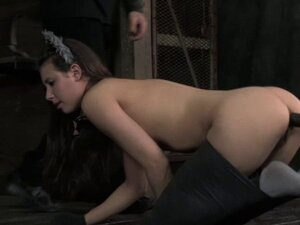 BDSM sub cat play Casey Calvert caned
