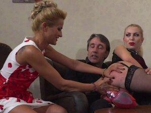 Big tits slave gets anal in public bar