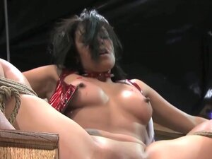 Beautiful ### in bdsm vibrated through speculum,