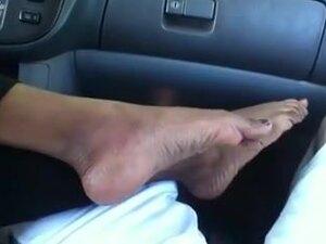 Foot fetish- Indian feet (Hot footjob, soles and