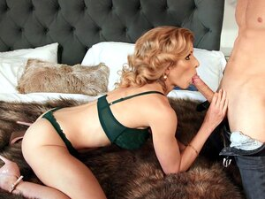 MILF Cory Chase gets her face fucked - Cory Chase
