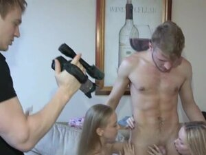 group sex ends up for two filthy cunts with lots