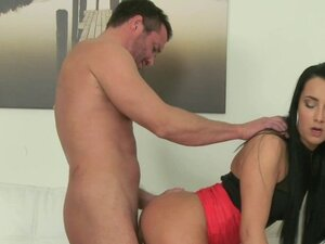 Lucky stud fucking agent on casting