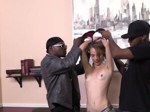 Beckie Lynn Debuts On Cam With An Interracial Gang