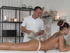 Massage Rooms Horny big tits babe loves every inch