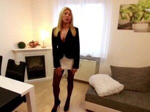 My Dirty Hobby - Blonde slut takes massive facial