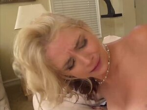 Busty housewife is crazy for anal