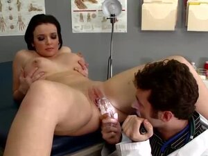 Doctor fucks patient in the ass